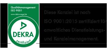 ANWALTSKANZLEI MESSLER & MESSLER – Dekra Certification